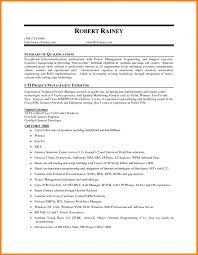 qualifications summary resumes resume examples summary of qualifications