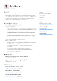 Exceptional Resume Examples Fashion Buyer Resume Templates 2019 Free Download Resume Io
