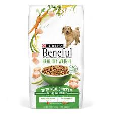 Purina Beneful Puppy Feeding Chart Purina Beneful Healthy Weight Dry Dog Food Healthy Weight