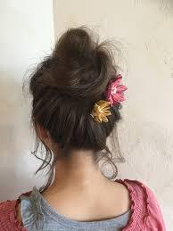 お祭りの浴衣に似合う髪型はずばりお団子ヘアです 香川県高松市で