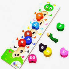 Wooden Bead Game Free shipping Kids caterpillar digital bead game wooden digital 44