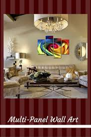 Decorating with multi panel wall art is easy, fun and makes your home super  trendy