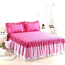 girls bed skirt. Plain Girls Charming Pink Bed Skirt Queen Astonishing Excellent Best Bedding Skirts  Images On Girls Home Improvement Contractor License Nj Application Intended X