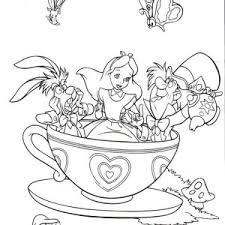 Small Picture Best Princess Tea Party Coloring Pages Images Coloring Page