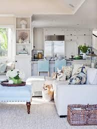 Beach Inspired Living Rooms Coastal Beach House Kitchen Coastal Coastal Living Kitchen Ideas