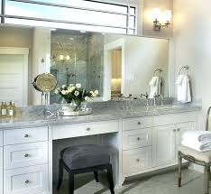bathroom makeup vanity and sink brilliant concept with station regard to wi
