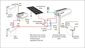 bcdc1220 and bcdc1225 12v and solar setup redarc electronics 8 Pin Relay Wiring Diagram bcdc1220 and bcdc1225 12v and solar setup