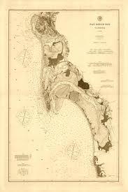 1894 Nautical Chart Of San Diego Bay