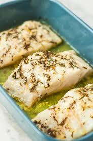 Healthy Baked Lemon Garlic Cod Recipe