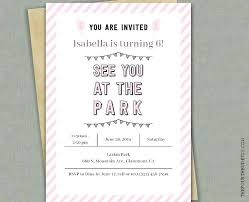 Girl Birthday Invitation Template Party Invitation Templates Free Word In Afrikaans Christmas 2007