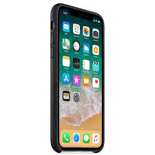 apple iphone x leather case black compatible with apple iphone x 2017 only
