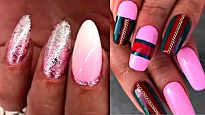 Acrylic Nails Tutorial - The Best Nail Art Designs Compilation ...
