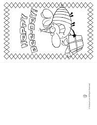 Free greeting card and envelope templates for kids to print out and craft into greeting cards for birthdays, mother's day, father's day, valentine's day, and other special occasions. Coloring Pages Birthday Card For Boy Coloring Home