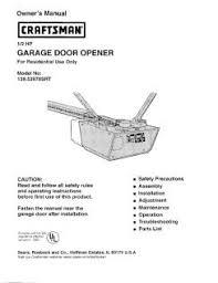 wayne dalton garage door opener manualCraftsman 1 2 Hp Garage Door Opener Manual In Craftsman Garage
