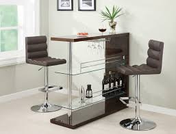 contemporary bar furniture for the home. Coaster Furniture 100166 Bar Table In Cappuccino Contemporary For The Home