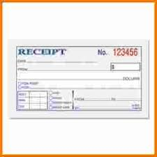 receipt blank 6 blank receipts expense report