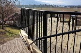 deck railing trueline professional aluminum railing contractor serving bc