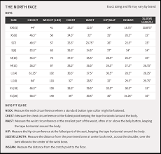 67 Inquisitive North Face Womens Coat Size Chart