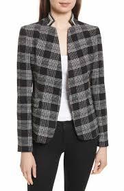 Patterned Blazer Womens Impressive Women's Black Patterned Blazers Jackets Nordstrom