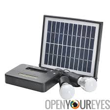 Solar Powered LED Street Light With Auto Intensity ControlSolar Powered Lighting Systems
