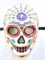 Cute Mouth Mask Designs Sugar Skull Masquerade Mask Sugar Skull Painting Sugar