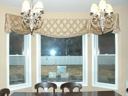 Beautiful Kitchen Impressive Curtains Bay Window Curtain For On Valances ...