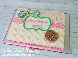 Shopkins Buttercream Sheet Cake Cakes And Goodies Birthday Sheet
