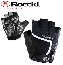 Details About Roeckl Isaga 228 Cycling Gloves Black White Sizes Eur 7 8