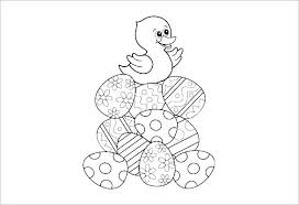 Free Bible Easter Coloring Pages Printable Egg Disney Religious