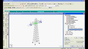 Small Picture Staad Pro Steel Design Transmission Tower using Design Code IS 801