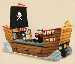 pirate lookout pirate ship bed