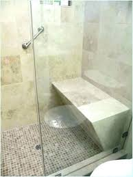 diy concrete shower pan tile floor fiberglass vs base a how to s for installation without diy concrete shower finished floor