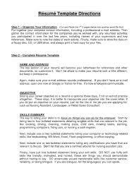 Resume Job Objective Statement Flightprosim Info