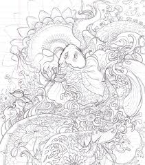 Small Picture Koi Fish Coloring Page artereyinfo