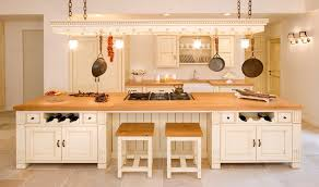 butcher block counter ideas kitchen farmhouse with panel refrigerator traditional cutting boards