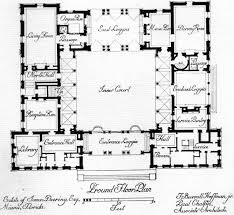 16 best u shaped floor plans images on pinterest u shaped houses L Shaped Home Floor Plans u shaped house plans with central courtyard google search l shaped house floor plans