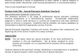 Substitute Teacher Resume Skills Full Hd Maps Locations Another