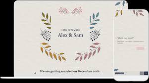 Rsvp Template Online Wedding Invitation Email Rsvp Online Template Templates