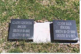 Gladys Gertrude Wright Rhodes (1882-1965) - Find A Grave Memorial