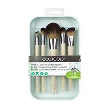 amazon ecotools start the day beautifully kit makeup brush set for foundation eyeshadow blush beauty