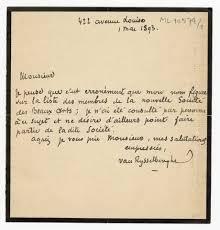 Lettres à Paul Lambotte]