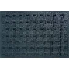 recycled rubber commercial door mat