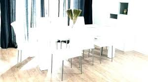 white round table. White Dining Room Set Round Table For 6 And Chairs