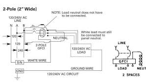 wiring diagram 2 pole gfci breaker wiring image gfi and hot tubs electrician talk professional electrical on wiring diagram 2 pole gfci breaker