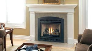 vented gas fireplace efficiency