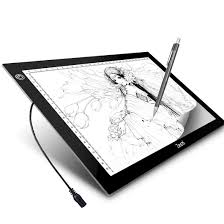 Light Box Drawing Tracing A4 Led Light Box Zecti A4 6 Level Brightness Tracing Light