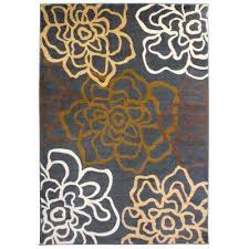contemporary modern fl flowers brown