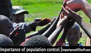 importance of population control essay and speech importance of population control
