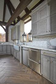 view larger image outdoor kitchen cabinets with a sink wall and base cabinets silver birch finished louver
