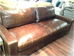 restoration hardware leather sofa 8 maxwell review new